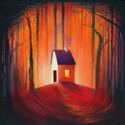 Darren Mundy Greeting Card - Grandma's House
